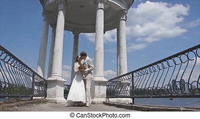 Tender Kiss newlyweds