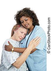 Tender Loving Care - A loving medical professional...