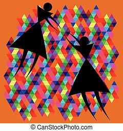tenderness of triangular figures