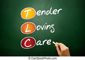 tendre, aimer, soin