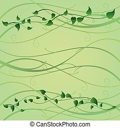 Tendril - an abstract summer background