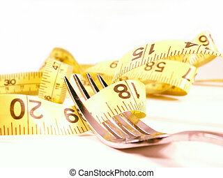 tenedor, 2, dieta