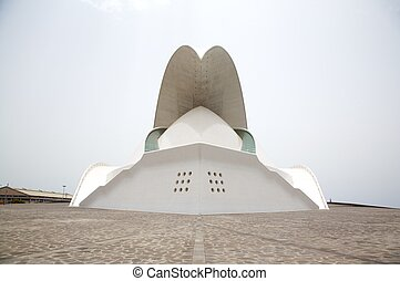 tenerife auditorium front side