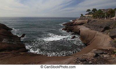 Tenerife beach coast Atlantic ocean