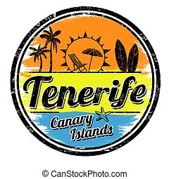 Tenerife sign or stamp
