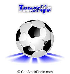 TENERIFE soccer ball