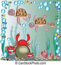tenger, animals.