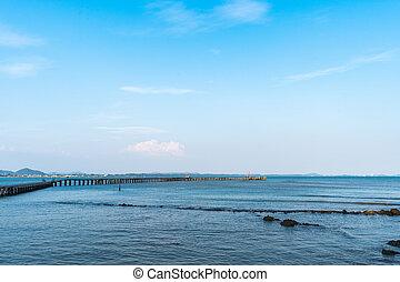 tenger, bridzs, rayong, fából való