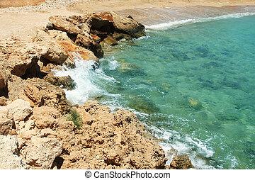 tenger part, háttér