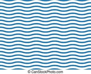 tenger, seamless, háttér, lenget