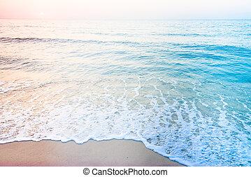 tenger, tengerpart