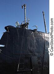 tengeralattjáró, s61, öreg, részletek, háború