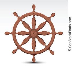tengeri, kormánylapát