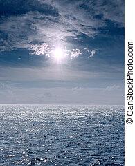 tengeri, táj