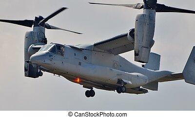 tengeri, v-22 osprey, alakulat