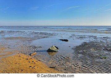 tengerpart, üres