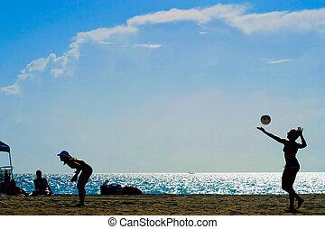 tengerpart röplabda