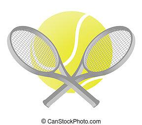 tenis, ilustracja