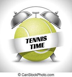tenis, tiempo