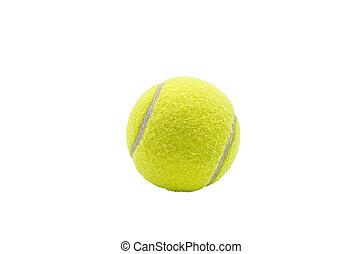 tenisz, ball.