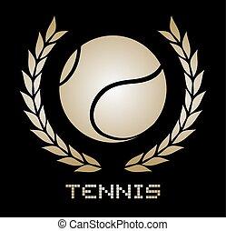 tenisz, embléma