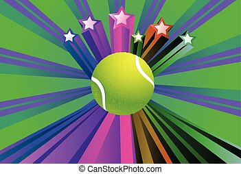 teniszlabda, háttér