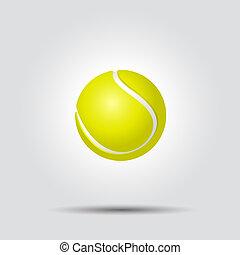teniszlabda, white, háttér, noha, árnyék