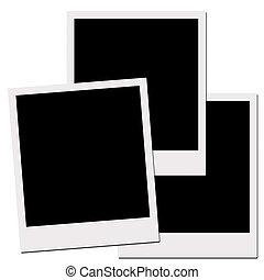 tenká vrstvička, výstřižek, path), polaroid, (with