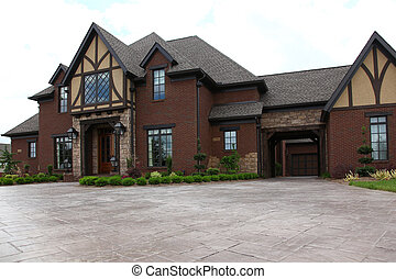 Tennesee Home - Image of a million dollar modern middle...