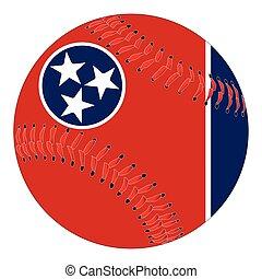 Tennessee Flag Baseball