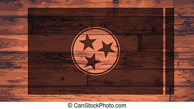 Tennessee Flag Brand