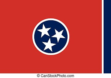 Tennessee Flag.