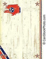Tennessee retro background