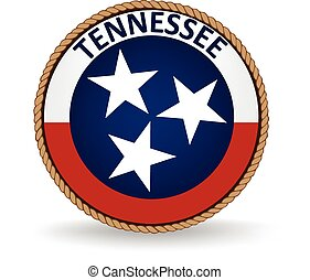 Seal of the American state of Tennessee.