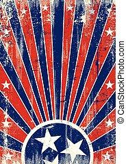 Tennessee vintage sunbeams - A vintage poster of Tennessee...