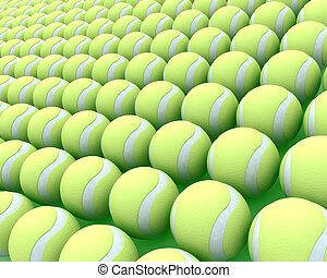 tennis μπάλα