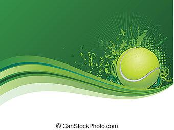 tennis background - tennis design elements,green background