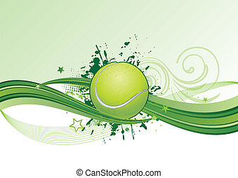 tennis background - vector tennis design element