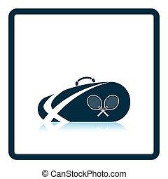 Tennis bag icon