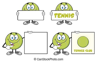 Tennis Ball Character Collection