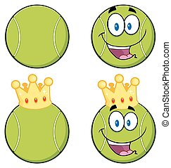 Tennis Ball Characters Collection