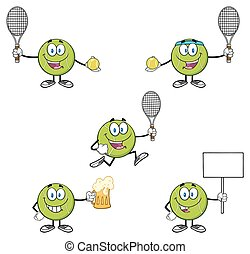 Tennis Ball Collection Set 5