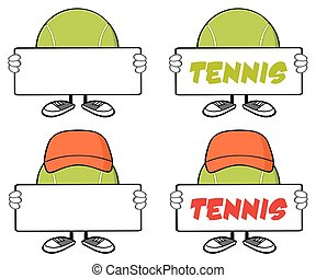 Tennis Ball Faceless Collection - 3
