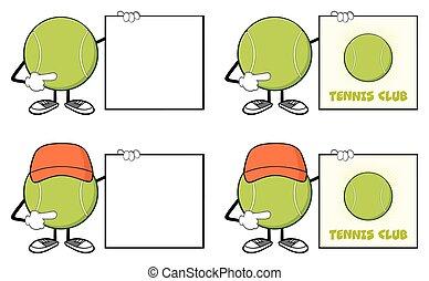 Tennis Ball Faceless Collection