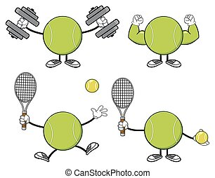 Tennis Ball Faceless Collection
