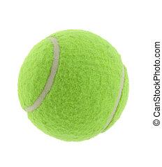 tennis ball on pure