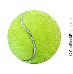 Tennis Ball - Single tennis ball isolated on white ...