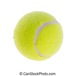 tennis balls on a background