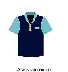 tennis blue tshirt graphic icon