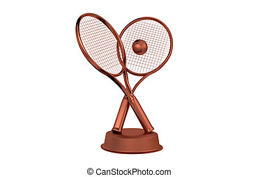 Tennis Bronze Trophy